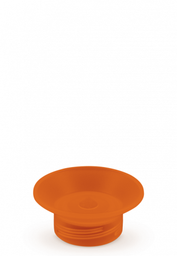 Dopper Original - Outright Orange Cap