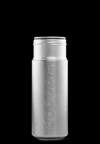 Silver Dopper Steel Bottle (800ml)