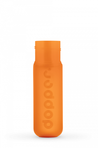 Dopper original orange bottle body